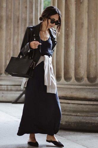 Универсальное платье в бельевом стиле: создаем ультрамодные образы на каждый день 24