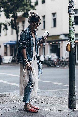 Универсальное платье в бельевом стиле: создаем ультрамодные образы на каждый день 25
