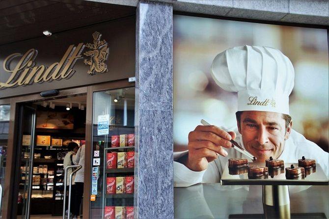 молочный шоколад в швейцарии