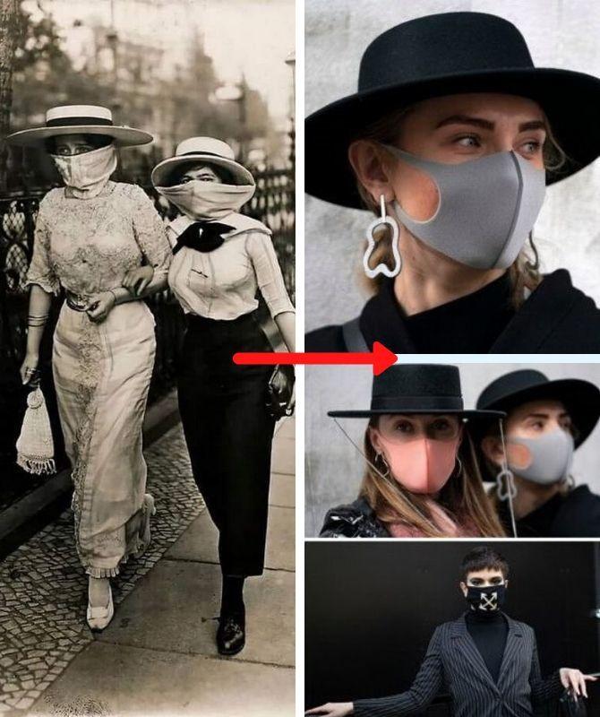 девушки в масках