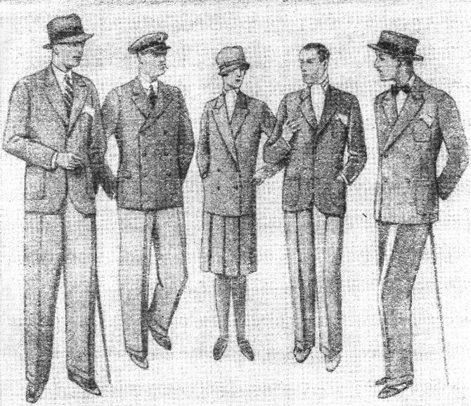 женская и мужская мода