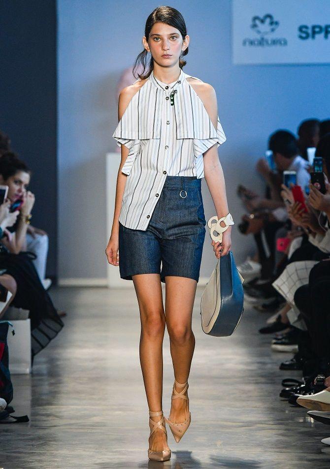 джинсовые бермуды женские