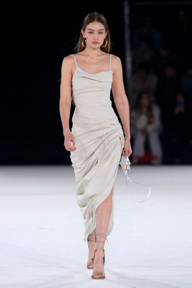 Универсальное платье в бельевом стиле: создаем ультрамодные образы на каждый день 8