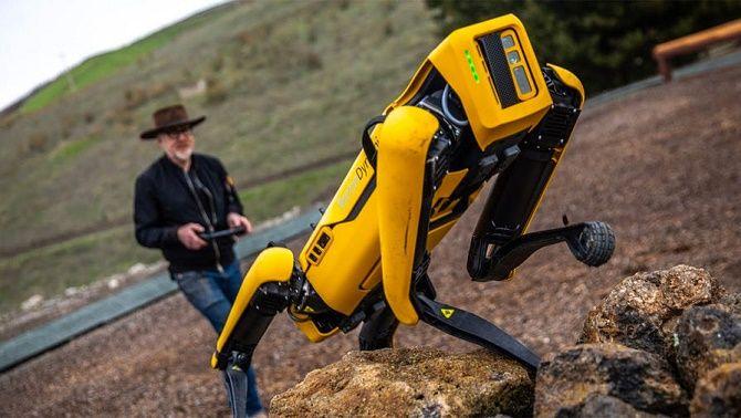 робопес Boston Dynamics