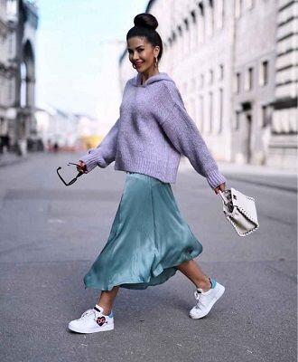 Универсальное платье в бельевом стиле: создаем ультрамодные образы на каждый день 38