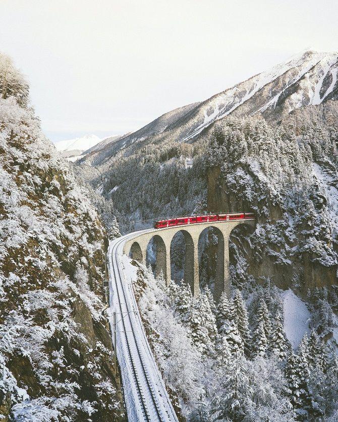 железная дорога Швейцария