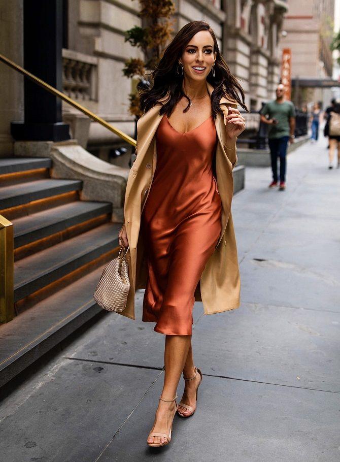 Универсальное платье в бельевом стиле: создаем ультрамодные образы на каждый день 48