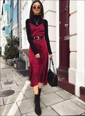 Универсальное платье в бельевом стиле: создаем ультрамодные образы на каждый день 43