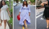 Модные летние платья на полных: тенденции 2021-2022 года