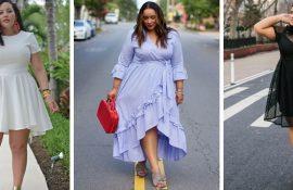 Модні літні сукні на повних: тенденції 2020-2021 року