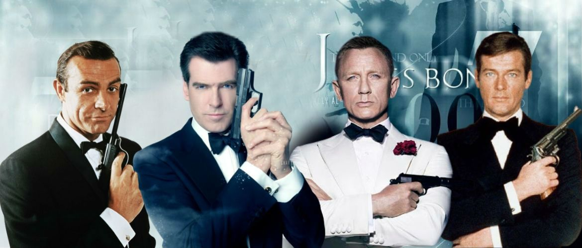 From Sean Connery to Daniel Craig: all James Bond films in their order