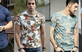 Тенденции мужской моды: футболки лето 2021-2022