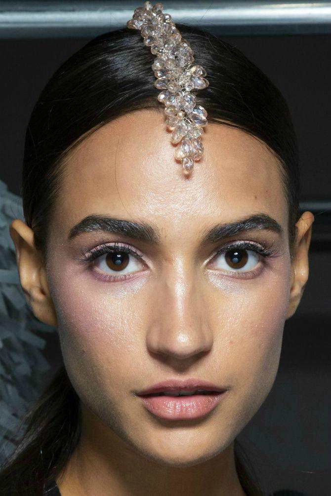 кристаллы в волосах