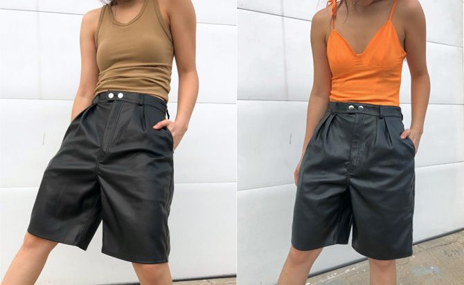шорты средней длины