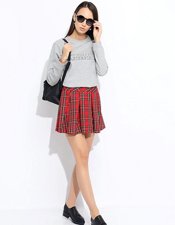 юбки со складками