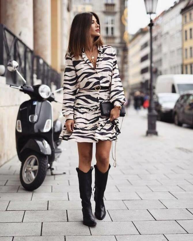 С чем носить короткую юбку: модные образы 2021-2022 72
