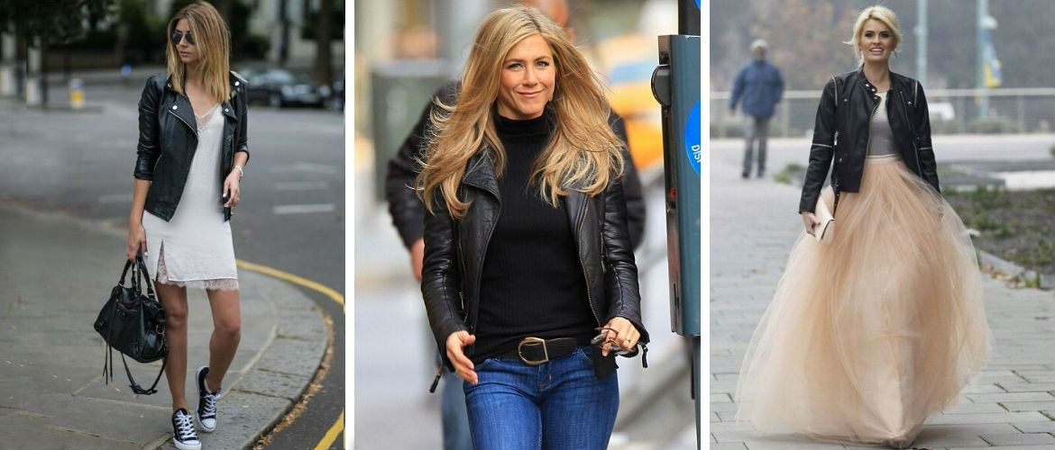 How to wear a leather biker jacket: 2020-2021 trends