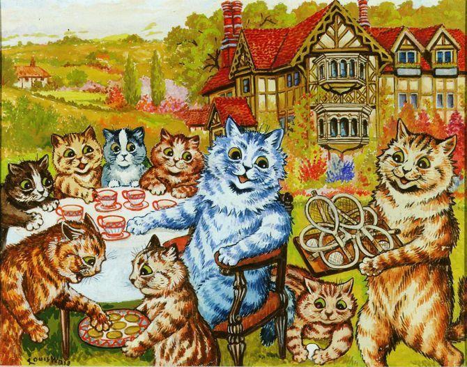 8 знаменитих художників, натхнених котами 15