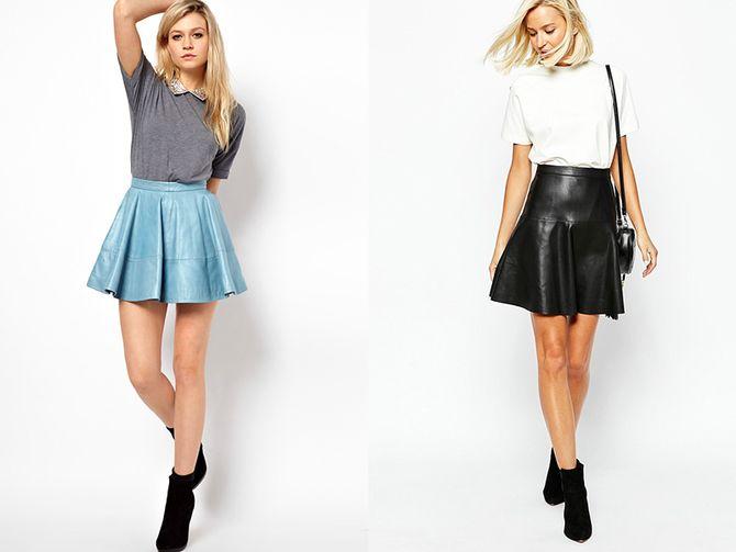 С чем носить короткую юбку: модные образы 2021-2022 23