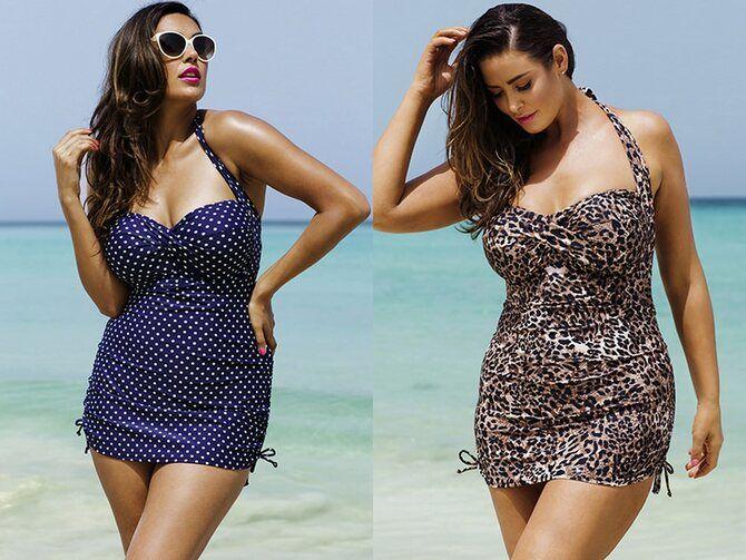Купальники для повних: модні тренди на літо 2021 1