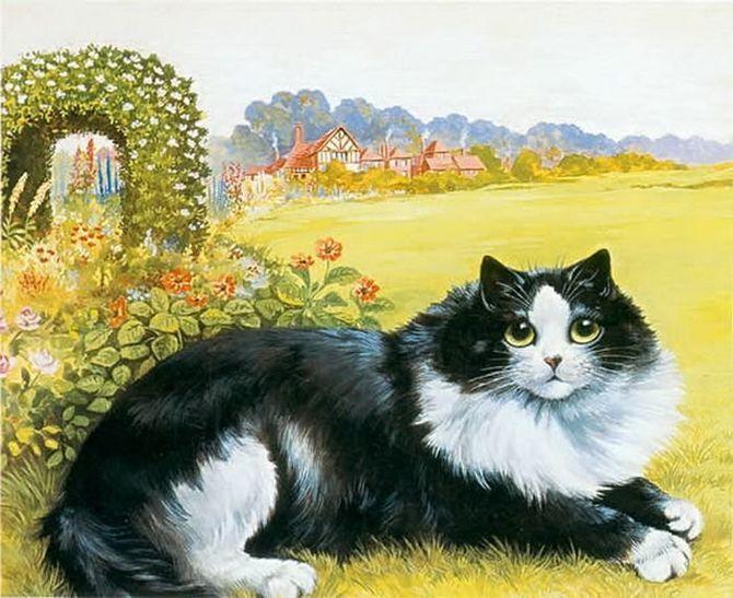 8 знаменитих художників, натхнених котами 14