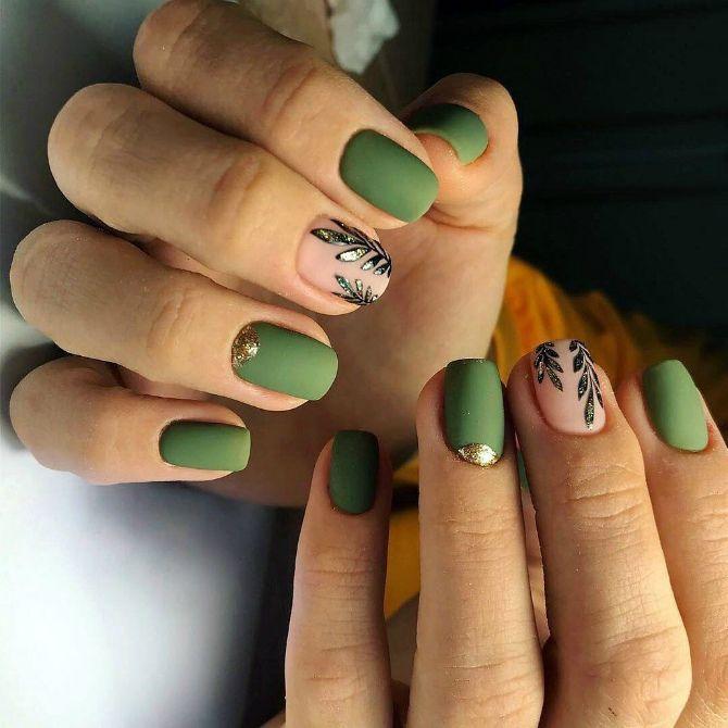 маникюр на короткие ногти лето