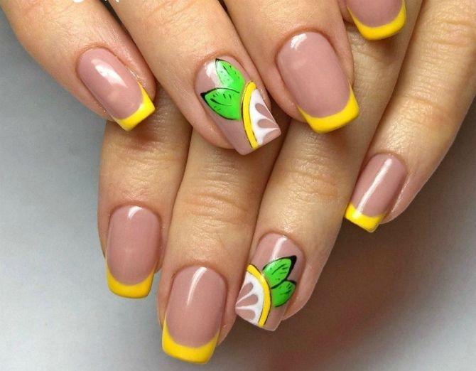маникюр на короткие ногти 2020 весна