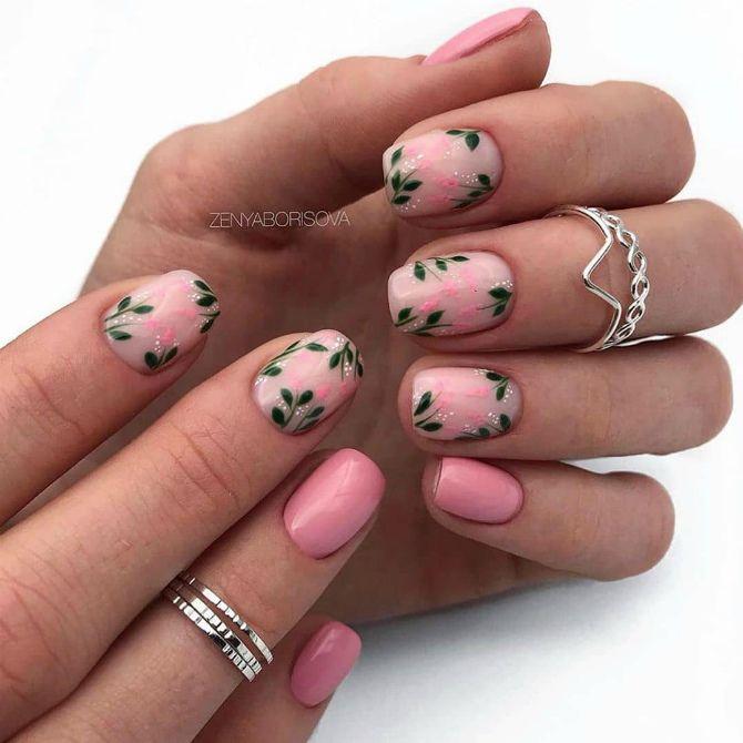 модные тенденции маникюра на короткие ногти