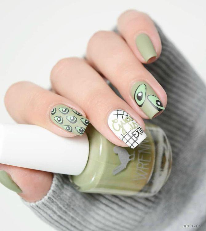 маникюр на короткие ногти новинки