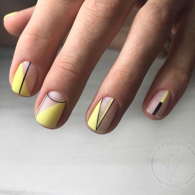 ногти нежный маникюр