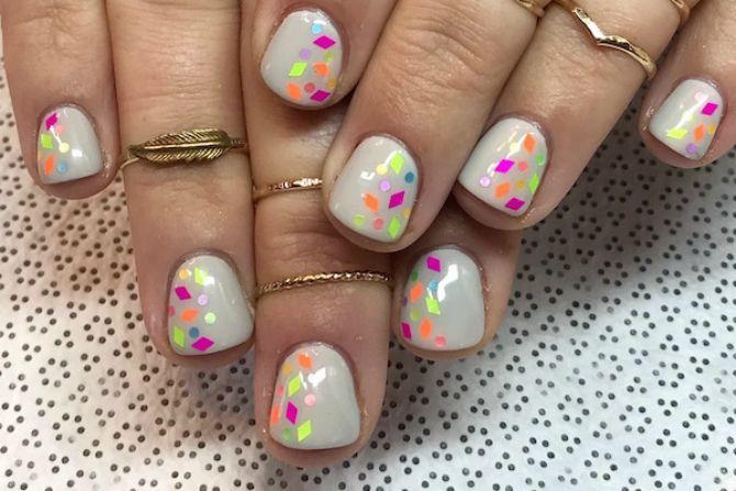маникюр 2020 на короткие ногти модные весна