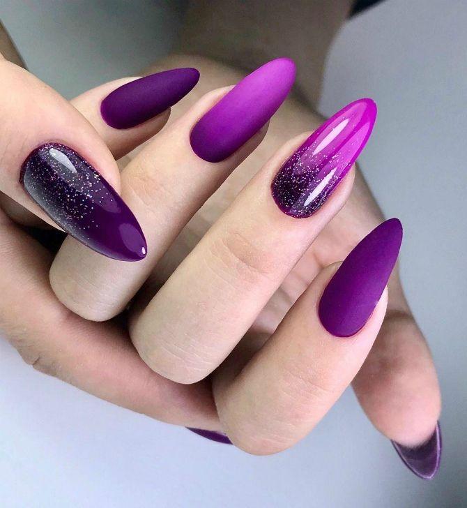 50 + идей дизайна миндалевидных ногтей 16