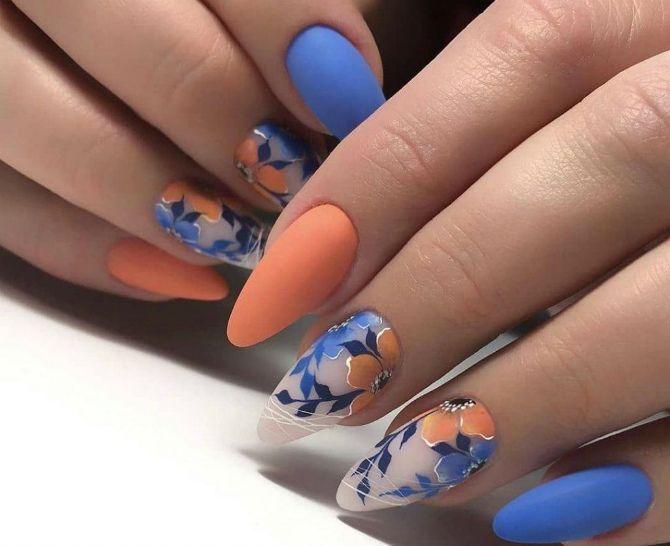 50 + идей дизайна миндалевидных ногтей 26