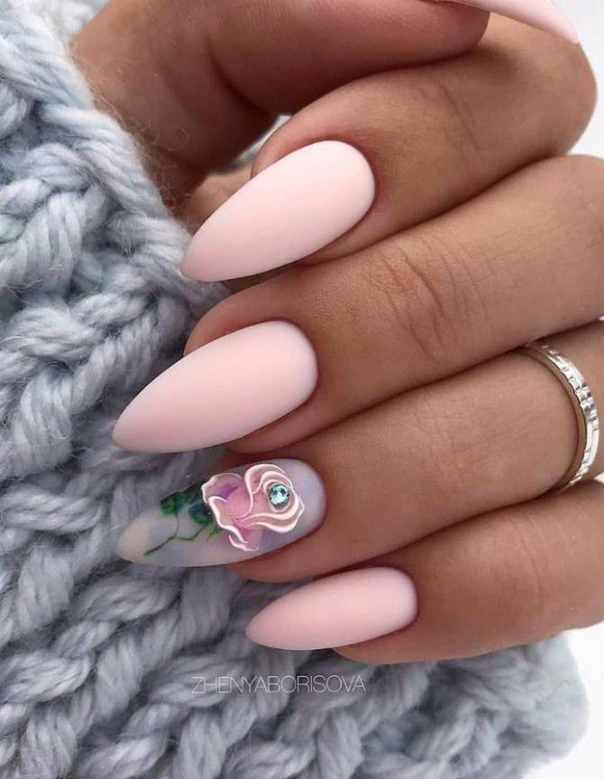 дизайн ногтей 2020 миндалевидной формы