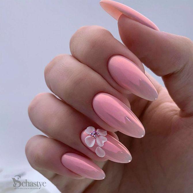 50+ ідей дизайну мигдалеподібних нігтів 28