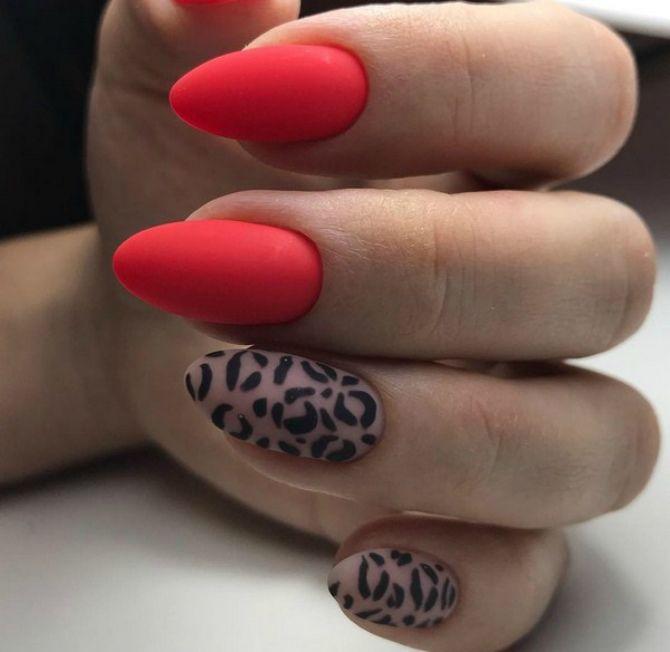 50 + идей дизайна миндалевидных ногтей 13