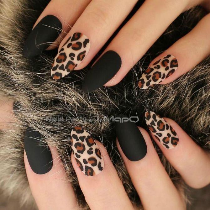 50+ ідей дизайну мигдалеподібних нігтів 30
