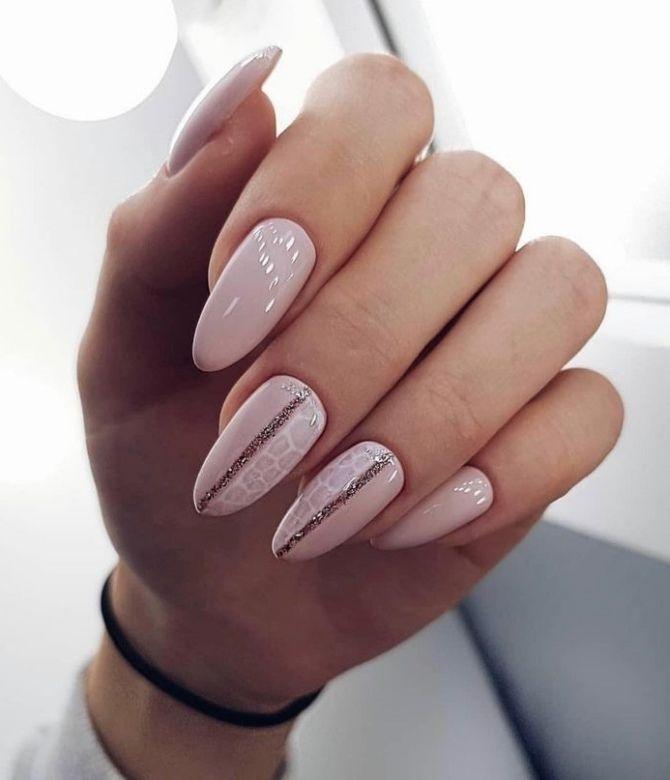 50+ ідей дизайну мигдалеподібних нігтів 38