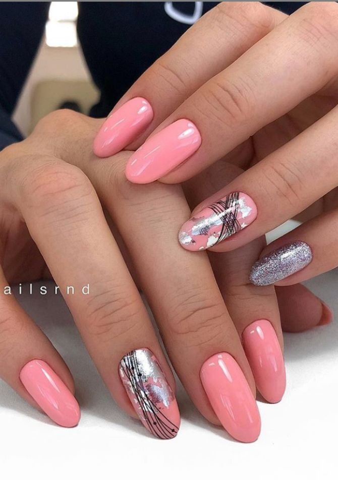 50 + идей дизайна миндалевидных ногтей 50