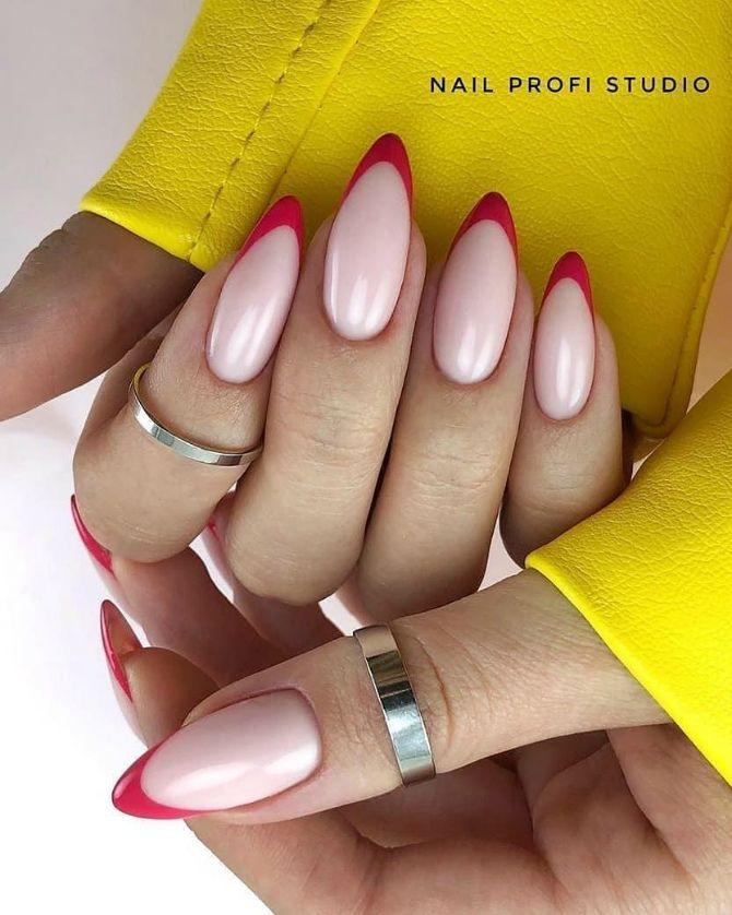 50 + идей дизайна миндалевидных ногтей 3
