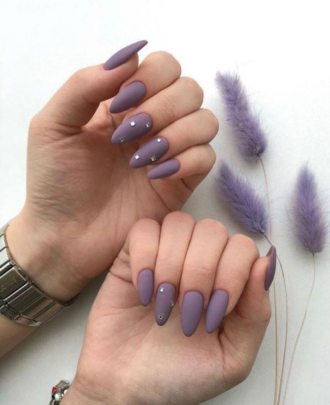 50 + идей дизайна миндалевидных ногтей 5