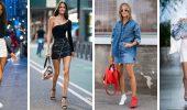 С чем носить короткую юбку: модные образы 2021-2022