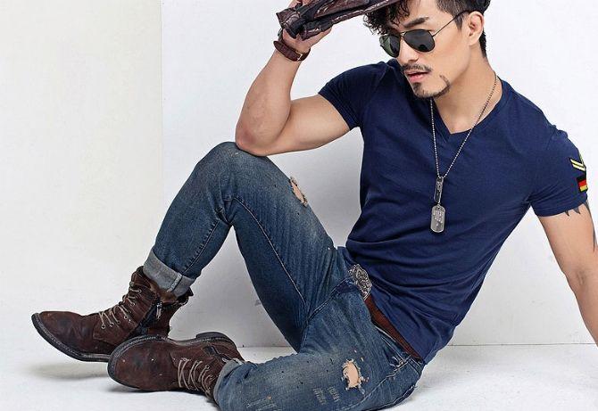 Тенденції чоловічої моди: футболки літо 2020-2021 14