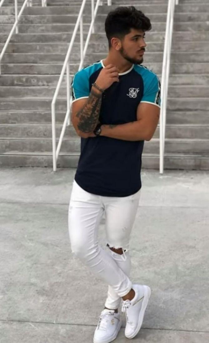 Тенденции мужской моды: футболки лето 2021-2022 6