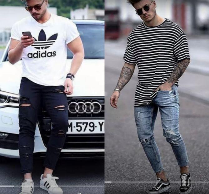 Тенденции мужской моды: футболки лето 2021-2022 7