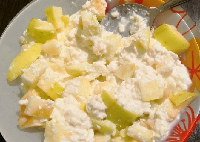 Сирно-яблучна начинка