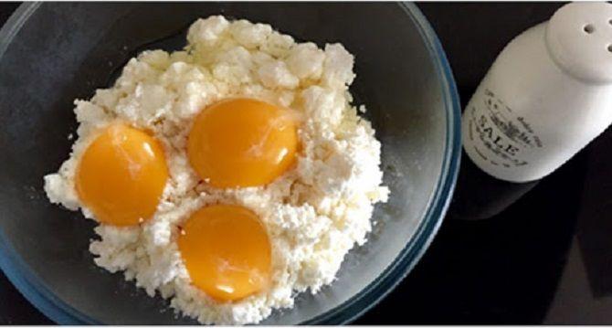 сыр яйца