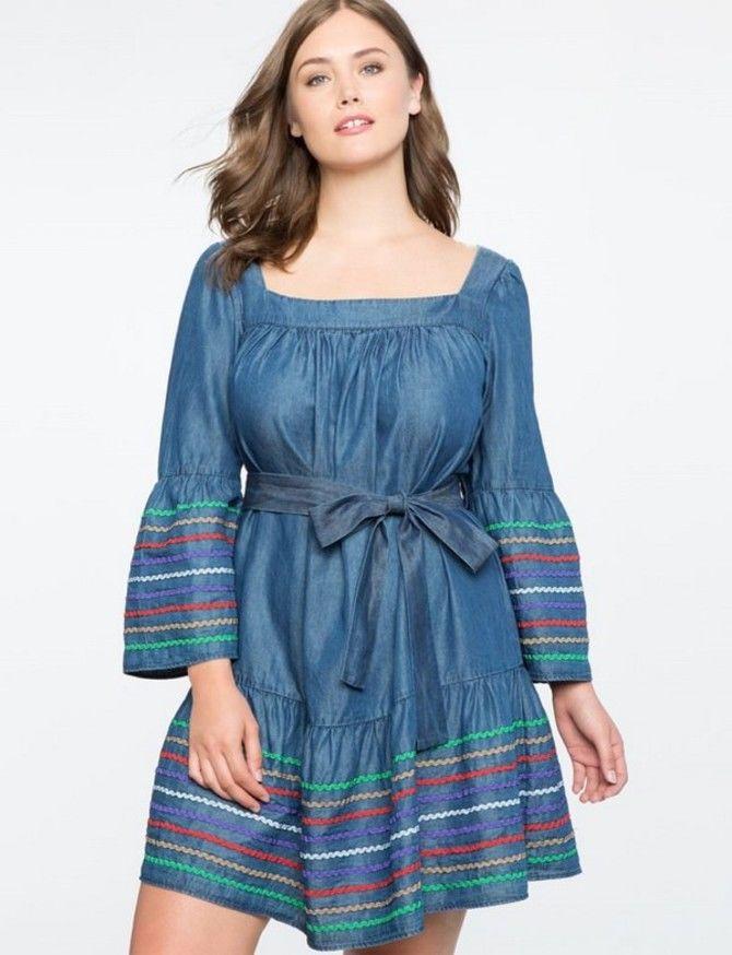 Модные летние платья на полных: тенденции 2020-2021 года 14