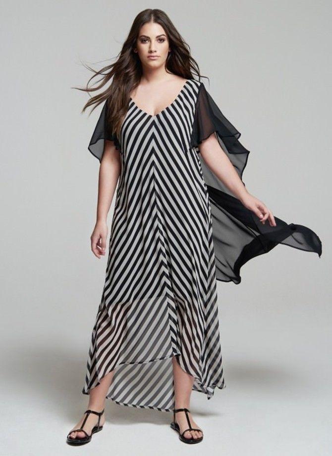 Модные летние платья на полных: тенденции 2020-2021 года 35