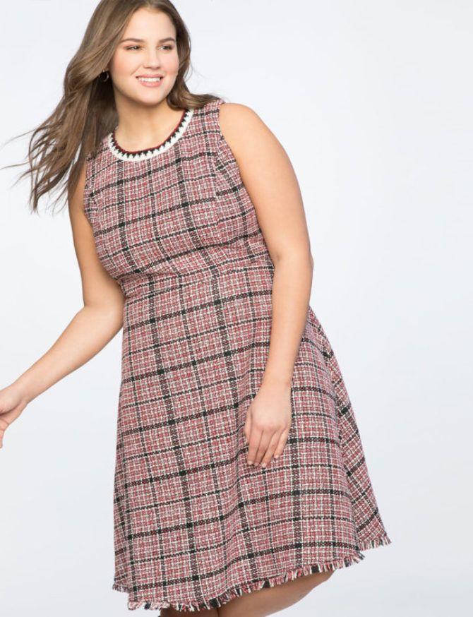 Модные летние платья на полных: тенденции 2020-2021 года 40